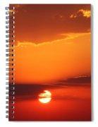Nebraska Sunrise Spiral Notebook