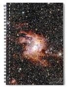 Nebula Ngc 3603 Spiral Notebook