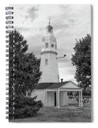 Neenah Lighthouse  8390 Spiral Notebook