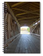 Neet Covered Bridge Interior Spiral Notebook