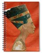 Nefertiti, Ancient Egyptian Queen Spiral Notebook