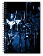 Blue Drums Spiral Notebook