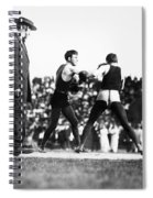 Nelson Vs. Hurley, 1902 Spiral Notebook