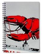 Neon Crawfish On Hwy 61 Baton Rouge Spiral Notebook