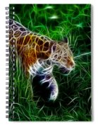 Neon Tiger Spiral Notebook