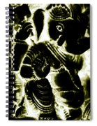 Neonganpati Spiral Notebook