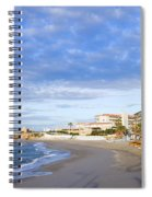 Nerja Beach On Costa Del Sol Spiral Notebook