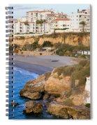 Nerja Town On Costa Del Sol Spiral Notebook