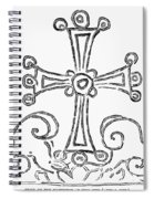 Nestorian Cross, 781 A.d Spiral Notebook