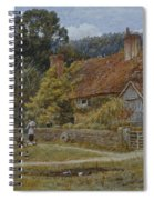 Netley Farm Shere Surrey Spiral Notebook
