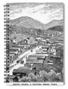 Nevada: Austin, C1880 Spiral Notebook