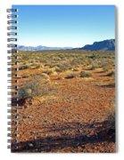 Nevada Desert Spiral Notebook