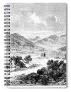Nevada: Washoe Region, 1862 Spiral Notebook