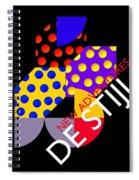 New Adventures In De Stijl Spiral Notebook