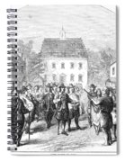 New Amsterdam, 1660 Spiral Notebook