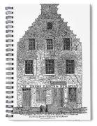 New Amsterdam: House, 1626 Spiral Notebook