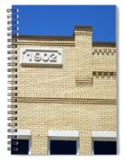 New Building Looking Old Spiral Notebook