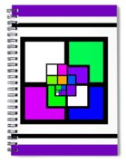 New Color Way Spiral Notebook
