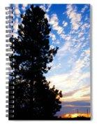 New Dawn Rising Spiral Notebook