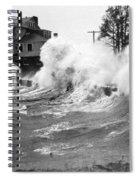 New England Hurricane, 1938 Spiral Notebook