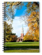 New England Style Spiral Notebook
