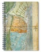 New England To Virginia, 1651 Spiral Notebook