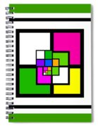 New Green Spiral Notebook