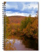 New Hampshire Fall Color Part Three Spiral Notebook