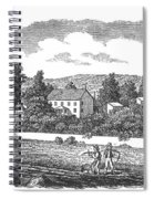 New Jersey Farm, C1810 Spiral Notebook