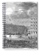 New Jersey Hotel, 1853 Spiral Notebook