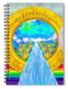 New Jerusalem Closeup - City Of God's Kingdom On Earth Spiral Notebook