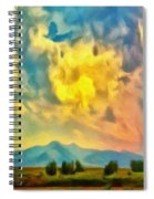 New Mexico Dawn Spiral Notebook