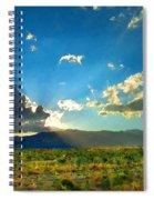 New Mexico Desert Spiral Notebook