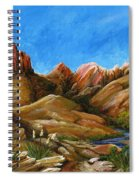 New Mexico Highlands In Spring Spiral Notebook
