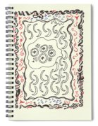 New Mexico Moon 4 Spiral Notebook