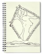 New Mexico Moon 5 Spiral Notebook