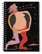 New Mexico Moon 6 In Starry Sky Spiral Notebook