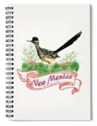 New Mexico State Bird The Greater Roadrunner Spiral Notebook