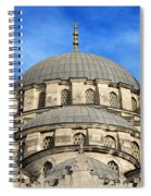 New Mosque Domes In Istanbul Spiral Notebook
