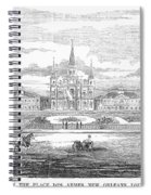 New Orleans, 1853 Spiral Notebook