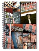 New Orleans Collage 1 Spiral Notebook