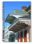 New Orleans Home Uptown Spiral Notebook