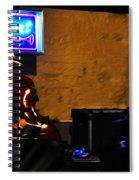 New Orleans Jazz Band Spiral Notebook