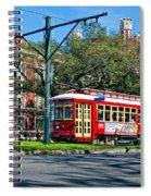 New Orleans Streetcar 2 Spiral Notebook