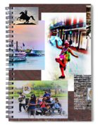 New Orleans The Birthplace Of Jazz Spiral Notebook