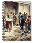 New Orleans: Voting, 1867 Spiral Notebook