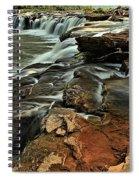 New River Waterfall Spiral Notebook