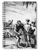 New World: El Dorado, 1727 Spiral Notebook