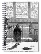 New Years Eve, 1859 Spiral Notebook