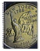 New York 2001 Spiral Notebook